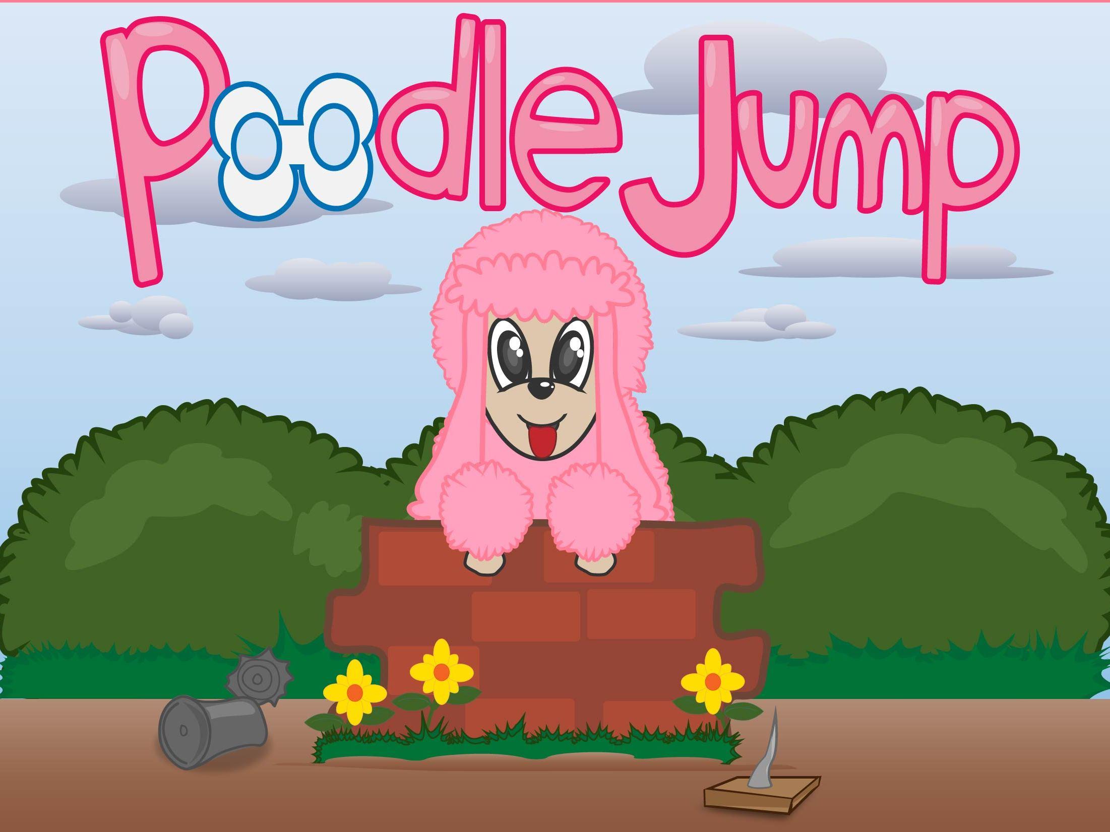 Poodle Jump. Divertido juego on line, para todas las edades.