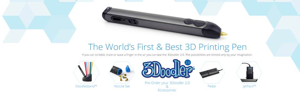 3 Doodler 2.0. Dibuja en 3D y Expón tus propias creaciones.