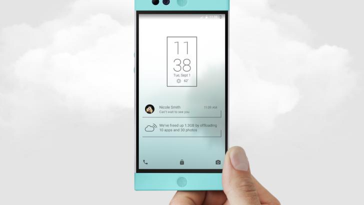 Robin Un Smartphone con Almacenamiento Ilimitado por menos de 350 $ en Kickstarter