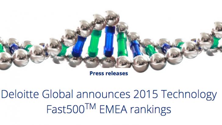 Technology Fast 500 Ranking de Empresas Tecnológicas de Deloitte