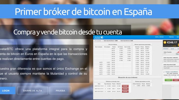 AvatarBTC, el Primer Bróker de Bitcoin de España