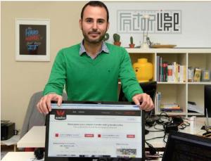 Carlos Liébana CEO de Wadios