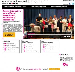 Microdonaciones