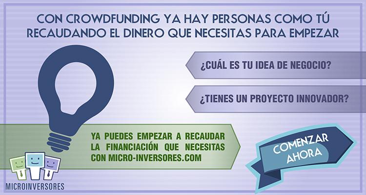 Microinversores. Crowdfunding con Préstamos Participativos.