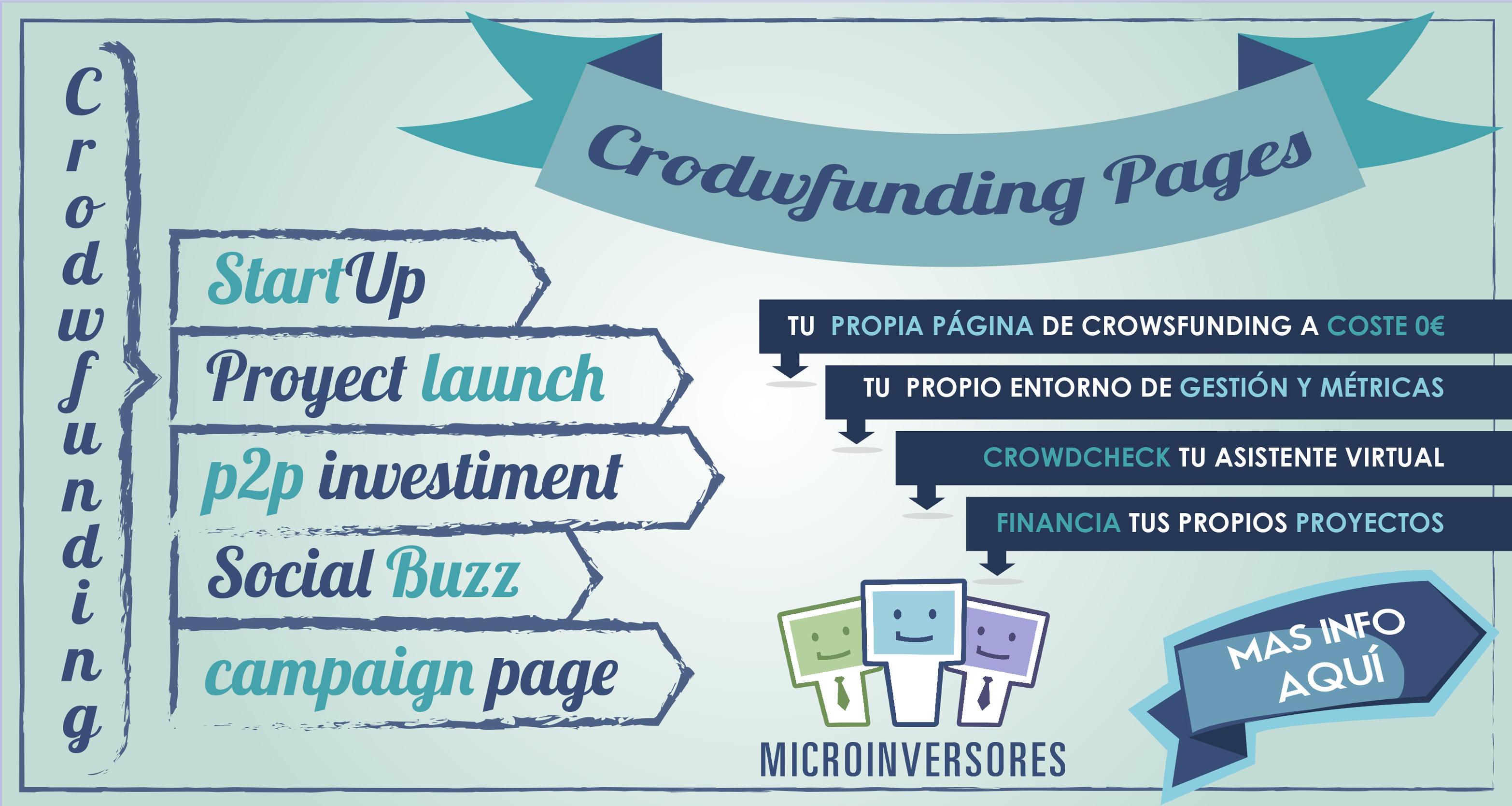 Obtén tu Propia Crowdfunding Page de la mano de Microinversores.