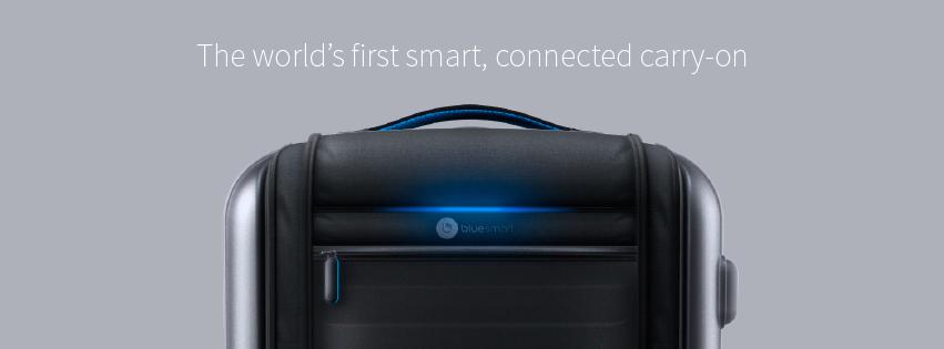 Bluesmart, la maleta inteligente arrasa en su campaña de Crowdfunding.