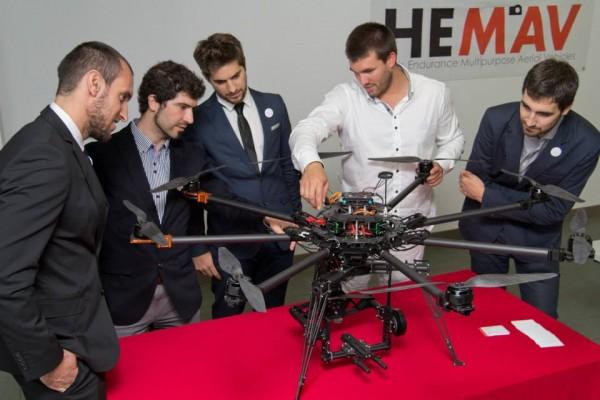 El proyecto de drones de Hemav, bate Records en el Equity Crowdfunding de nuestro País.