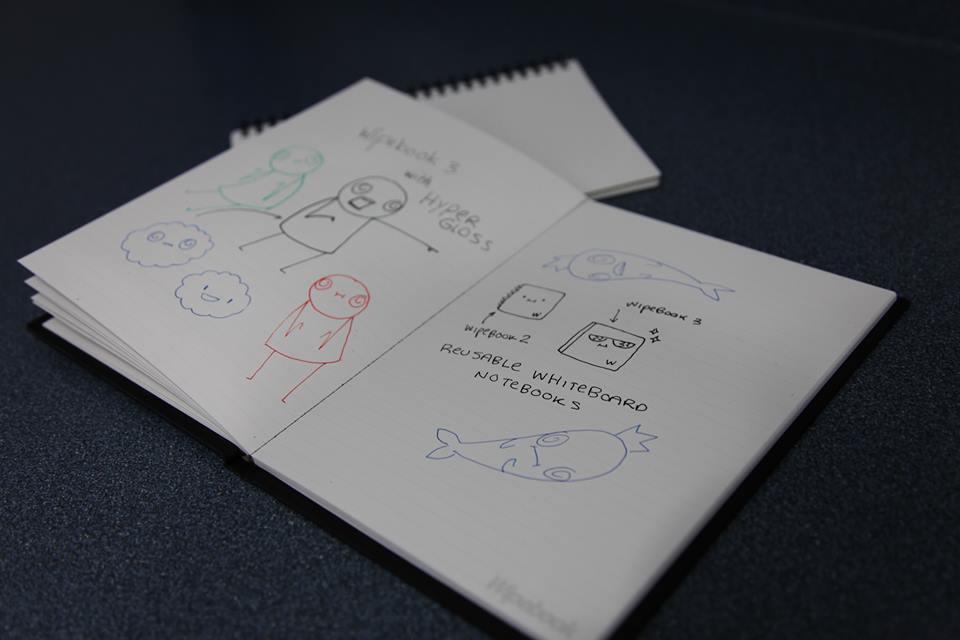 Wipebook 3, Mejora a su Anterior Predecesor con gran Éxito a través de su Campaña de Crowdfunding.