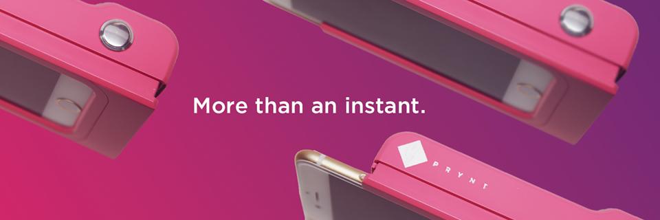 ¿Quieres Imprimir las Fotos de tu Smartphone al Momento? Con Prynt es posible.