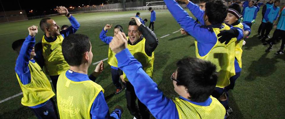 Zencap y el Levante UD-EDI: juntos por la práctica del deporte sin barreras