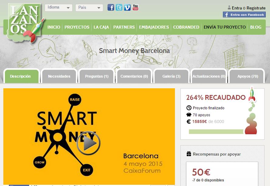 Ven al Smart Money Barcelona el 4 de Mayo.