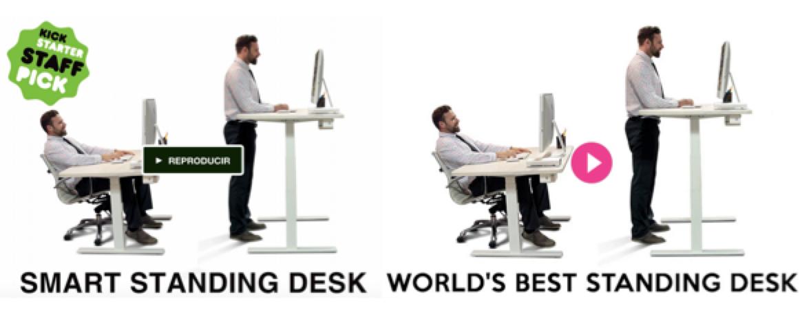 Un Éxito Consecutivo en Kickstarter e Indiegogo: ERGO Smart Desk