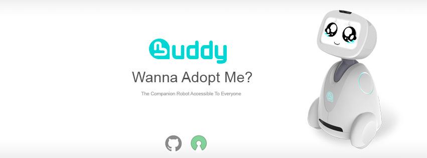 Ya ha Comenzado, los Robots Entran en las Familias con Buddy e Indiegogo