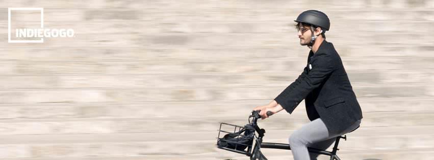 Un Casco Plegable para Ciclista que Revive el Éxito en Crowdfunding: Closca Fuga