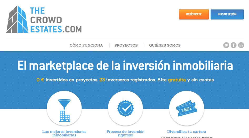 The Crowd Estates, Nace la Primera Plataforma de Crowdfunding Inmobiliario en España
