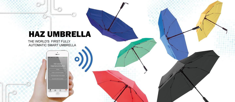 El Primer Paraguas Inteligente Está a Punto de Ser una Realidad: HAZ