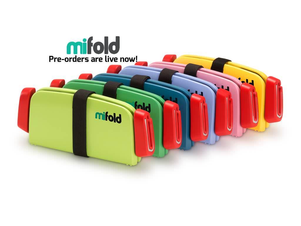 Una Silla de Coche Portátil para Niños por 35 $ en Indiegogo con Mifold