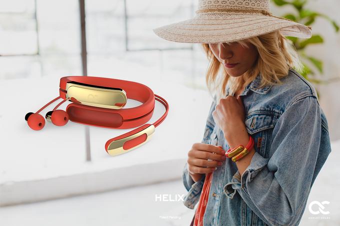 Tecnología, Moda y Olvídate de Cables para tus Auriculares con Helix en Kickstarter
