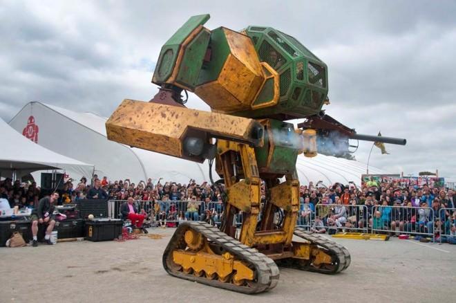 ¿Quieres Ver el Primer Gran Duelo de Robots Gigantes? Megabots te lo Ofrece A Través de Kickstarter
