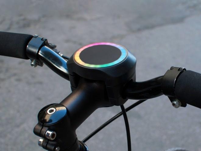 SmartHalo como Conseguir una Bicicleta Inteligente A través de Señales Luz en Kickstarter