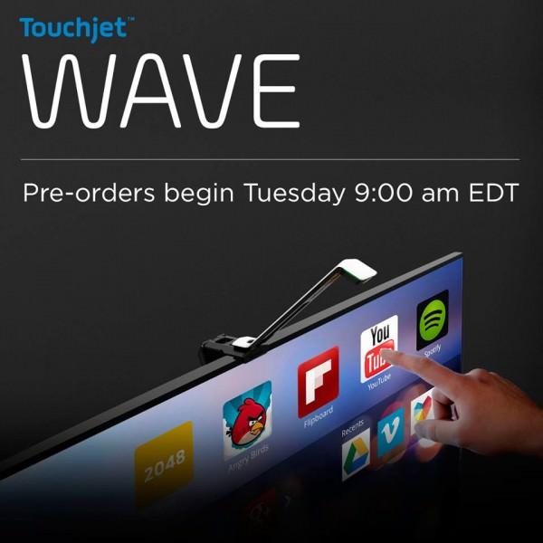 Touchjet WAVE, cómo Hacer que tu TV se Transforme en Táctil