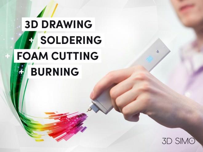 Imprimir en 3D desde 79 $ es posible con 3Dsimo y Kickstarter