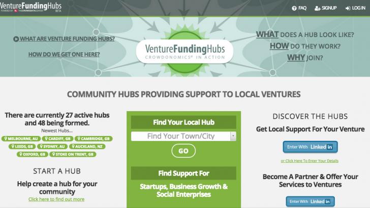 ¿Eres Emprendedor? Encuentra el Venture Funding Hub en tu Ciudad