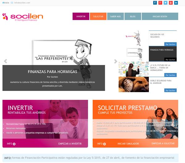 Entrevista al CEO de Socilen: Somos la Primera Plataforma de Crowdlending en España con un Fondo de Garantía para Inversores