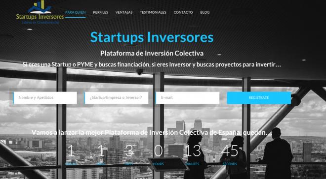 Startups Inversores a 1 Mes del Lanzamiento de esta Nueva Plataforma de CrowdInvesting