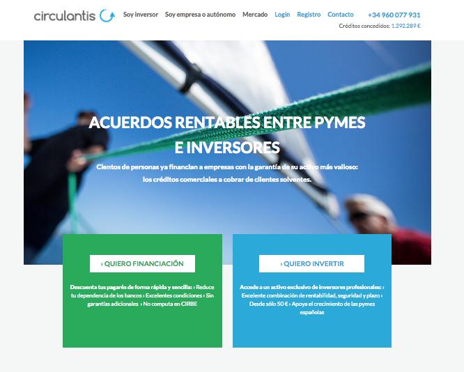 Entrevista al CEO de Circulantis la Primera Plataforma de Crowdfactoring en España