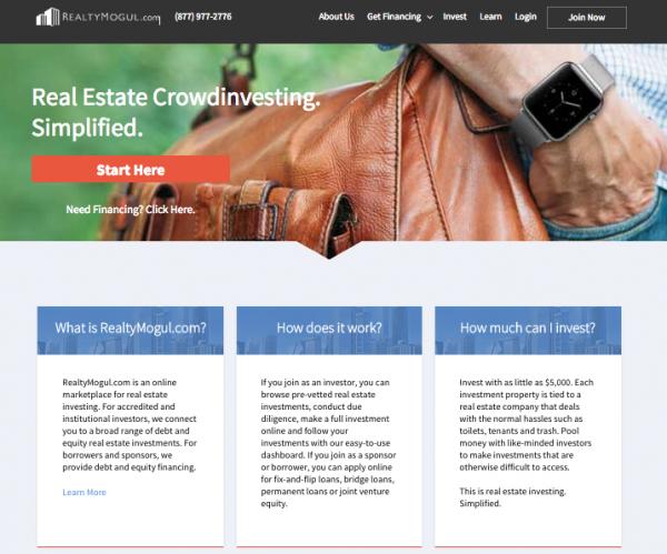 Realty Mogul Plataforma de Crowdfunding Inmobiliario con sede en Los Ángeles han Financiado Más de 240 Propiedades