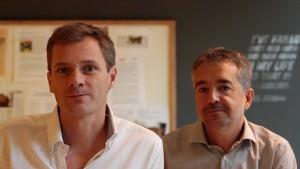ECrowd (de izquierda a derecha): Matthieu van Haperen i Jordi Solé Muntada Ribot, fundadores de Ecrowd!