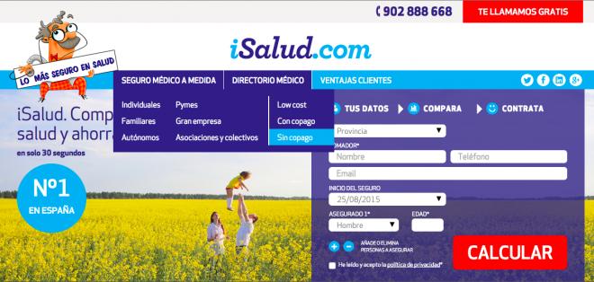 iSalud.com la startup española líder en seguros médicos