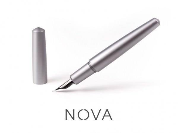Más de 1.200 Apoyos para Nova, una Pluma de Aluminio o de Titanio en Kickstarter