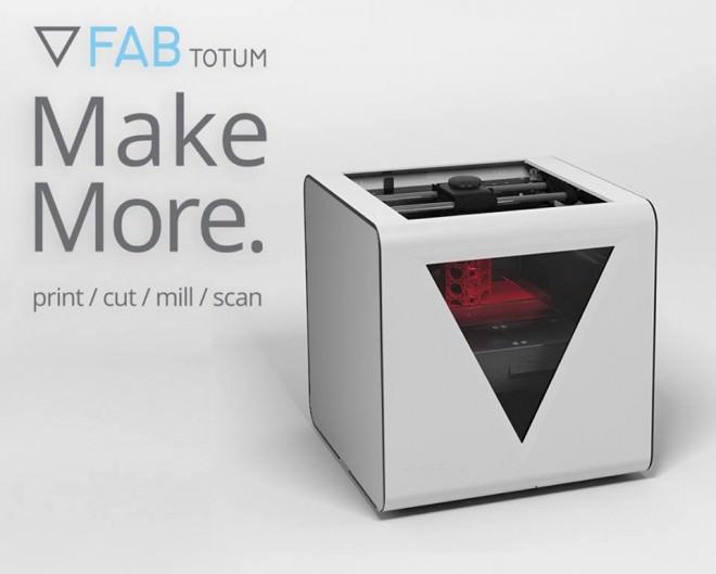 FABtotum PRISM Innovadora Impresora 3D Multifunción Éxito en Indiegogo