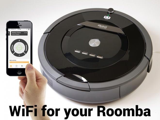 Controla tu Robot de Limpieza Doméstica a través de tu Smartphone vía Wifi en Kickstarter