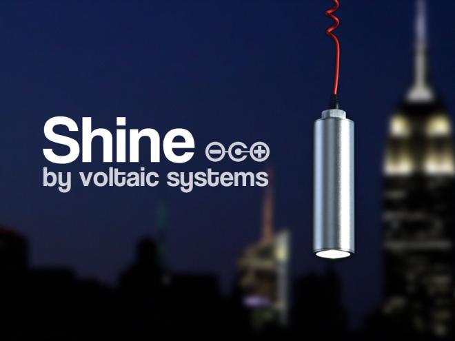 Shine, Tu Luz Solar Portátil En Kickstarter Supera los 60.000 $