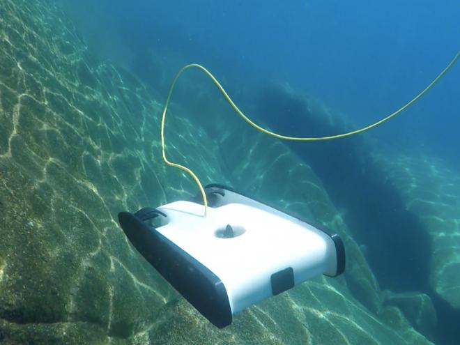 OpenROV Trident Un Dron Submarino Éxito en Kickstarter Recauda Más de 500.000 $
