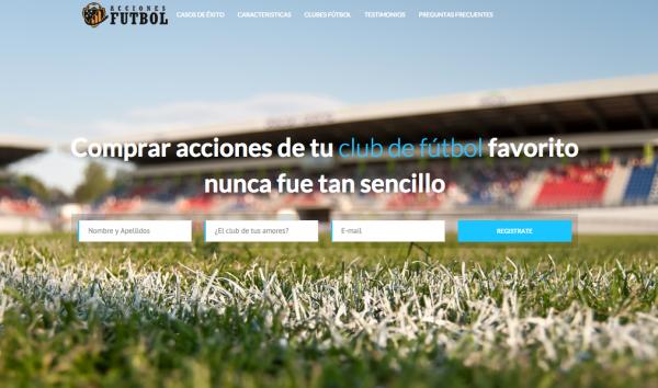 ¿Propietario de tu Club de Fútbol favorito? Con Acciones Fútbol es Posible