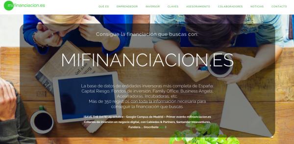Mifinanciación Impulsa el Emprendimiento en España
