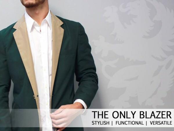 El Crowdfunding Apuesta por la Moda con The Only Blazer otro Proyecto de Éxito en Kickstarter