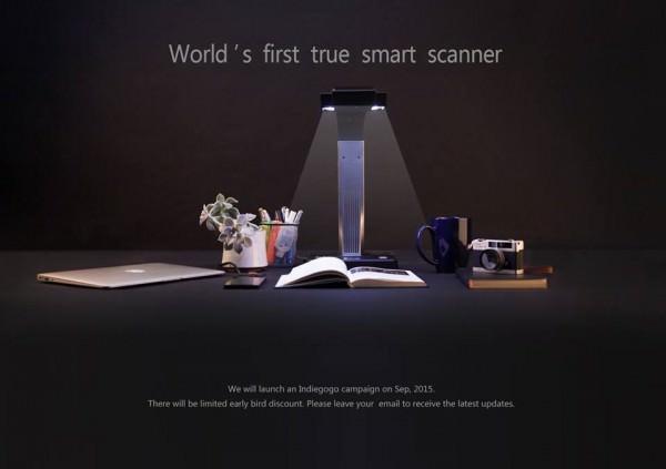 Digitaliza tu Biblioteca de Forma Sencilla con Czur un Innovador Escáner que busca Financiación en Indiegogo