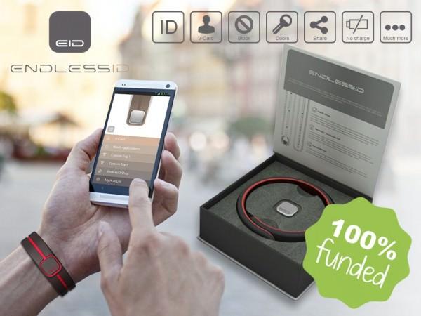 Asegura los Datos de tu Smarthphone con EndlessID en Kickstarter