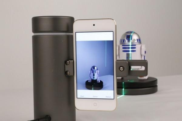 Eora 3D Convierte tu Smartphone en un Escáner Láser Éxito de Recaudación en Kickstarter
