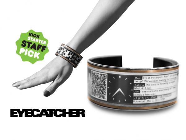 Eyecatcher, el Brazalete Inteligente que Fusiona Arte, Tecnología y Moda es un Éxito en Kickstarter