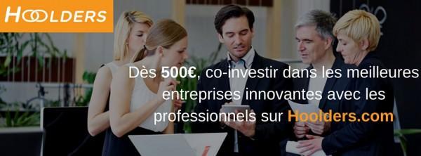 Hoolders Permite Co-Invertir junto a los Mejores Profesionales Financieros en Francia