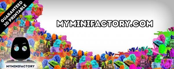 MyMiniFactory Red Social para Diseñadores 3D Busca Inversión en Seedrs