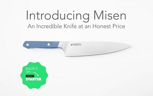 Llega a Kickstarter el Cuchillo que Revolucionará tu Manera de Cocinar, Misen