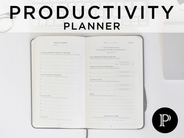 Más que una Agenda, con Productivity Planner Aumenta tu Productividad Diaria desde 31 $ en Kickstarter