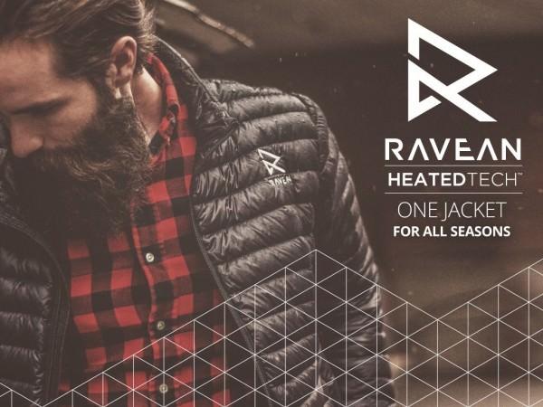 Ravean, una Chaqueta Climatizada que Puede Cargar tu Móvil Bate un Nuevo Récord en Kickstarter